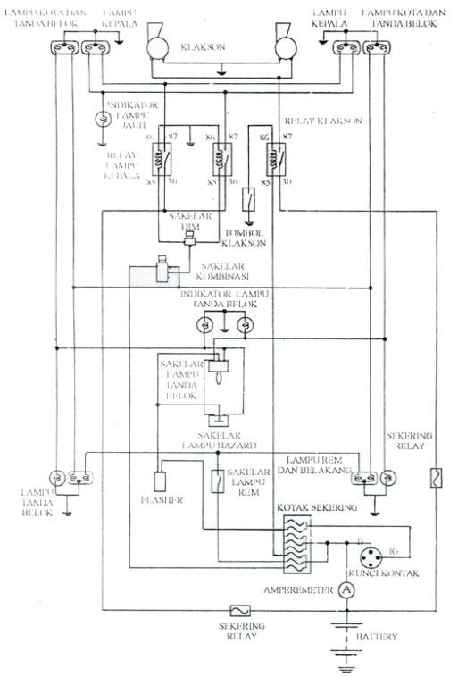 Wiring Diagram Sistem Penerangan Mobil Diagram Base Website Penerangan Mobil Heartcirculationdiagram Sportwood It