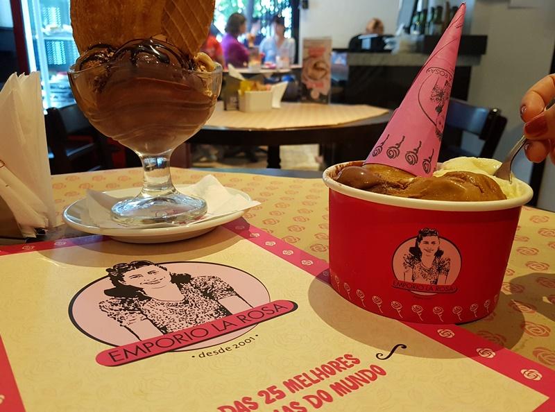 Emporio La Rosa, melhor sorveteria de Santiago e do Mundo