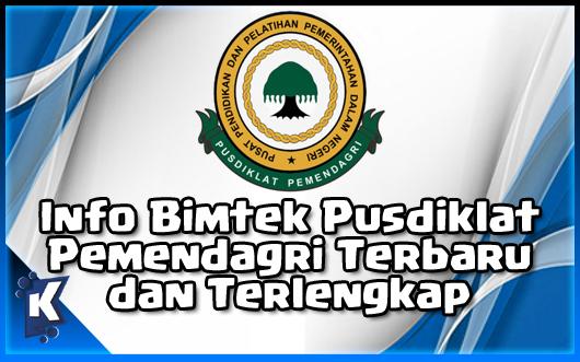 Info Bimtek Pusdiklat Pemendagri 2019 di Indonesia