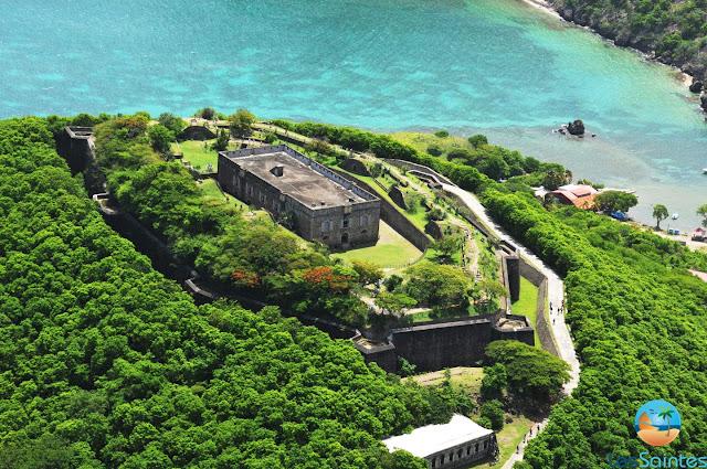 Fort Napoléon vue du ciel