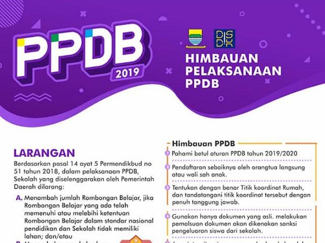Perhatikan Hal-Hal Berikut Saat Daftar PPDB Kota Bandung 2019