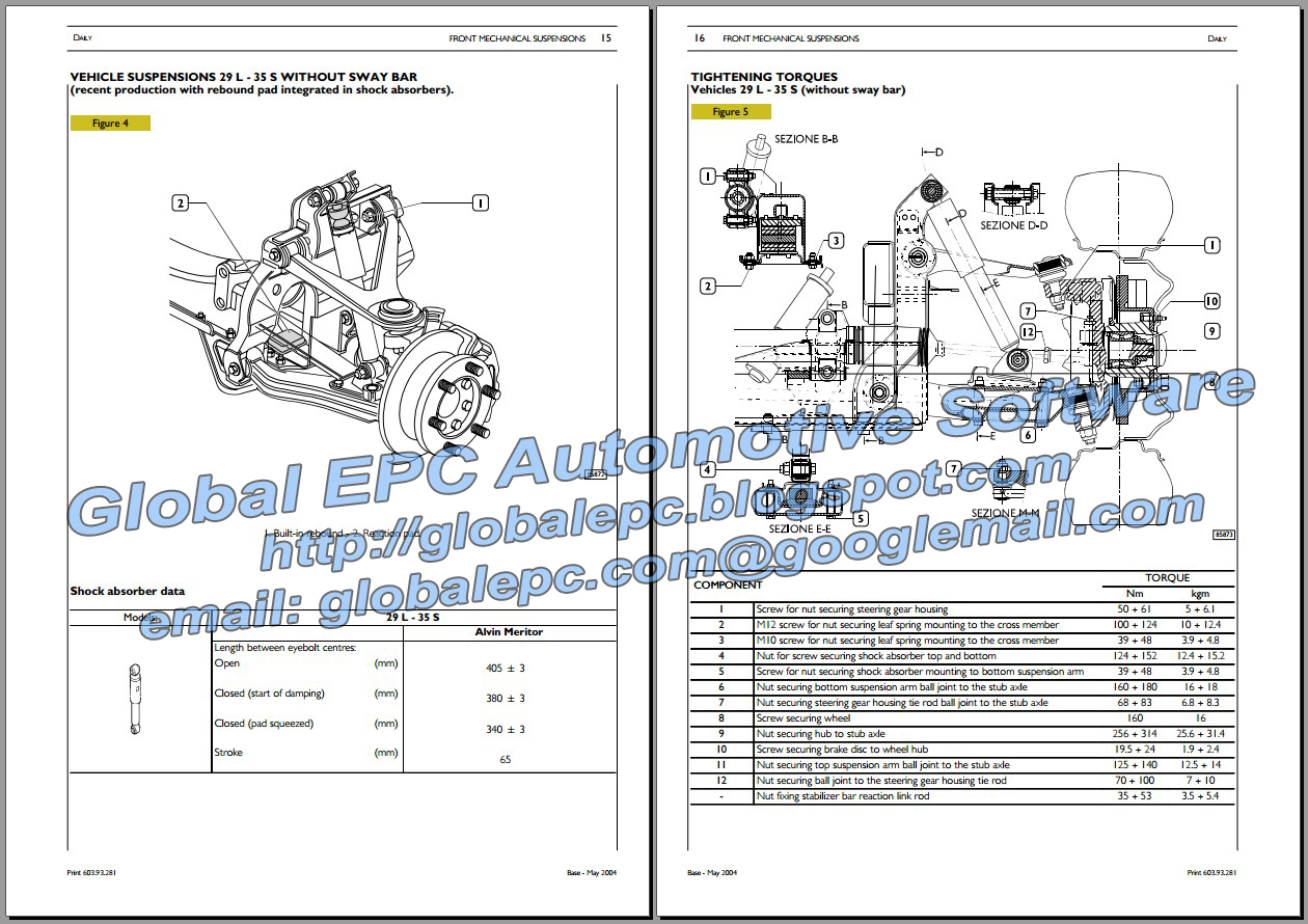 car repair diagrams automotive repair manuals: iveco daily 2000-2006 repair ... gy6 150cc engine repair diagrams #7