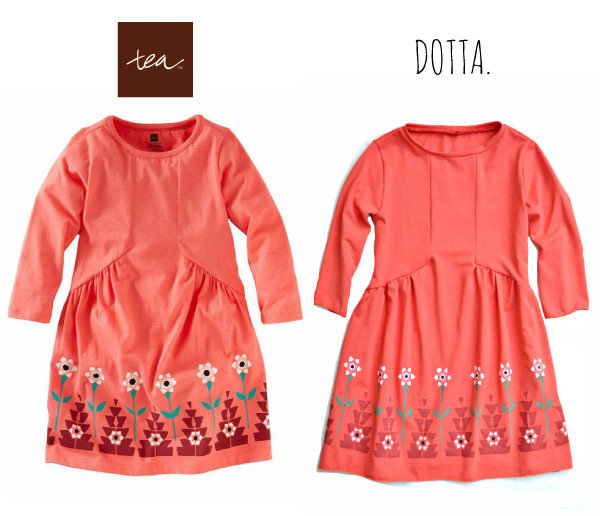 Tea Collection Knockoff by Dotta. dottasews.blogspot.com