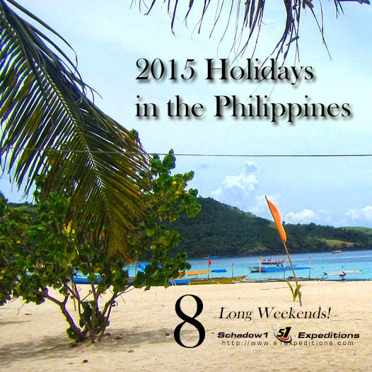 Year 2015 Holidays in the Philippines