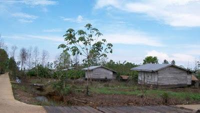 Daerah Transmigrasi Terlantar