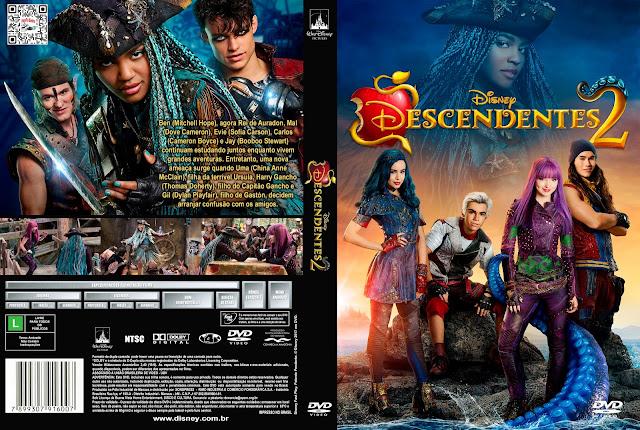 Capa DVD Descendentes 2 [Custom]