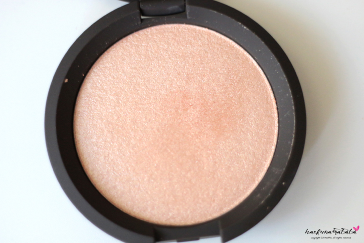BECCA Champagne Pop Shimmering Skin Perfector Pressed Review, Swatches, FOTD