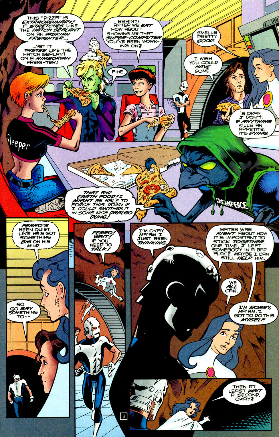 Legion of Super-Heroes (1989) 93 Page 7