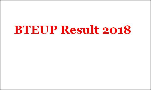 UP BTE Result 2018