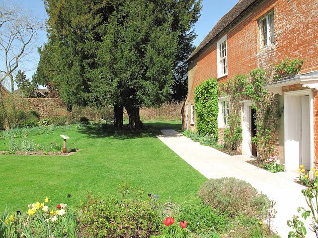 The garden at Jane Austen's House