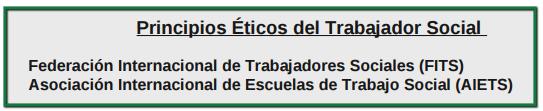 PDF Principios éticos del trabajador social Vía FITS y AIETS