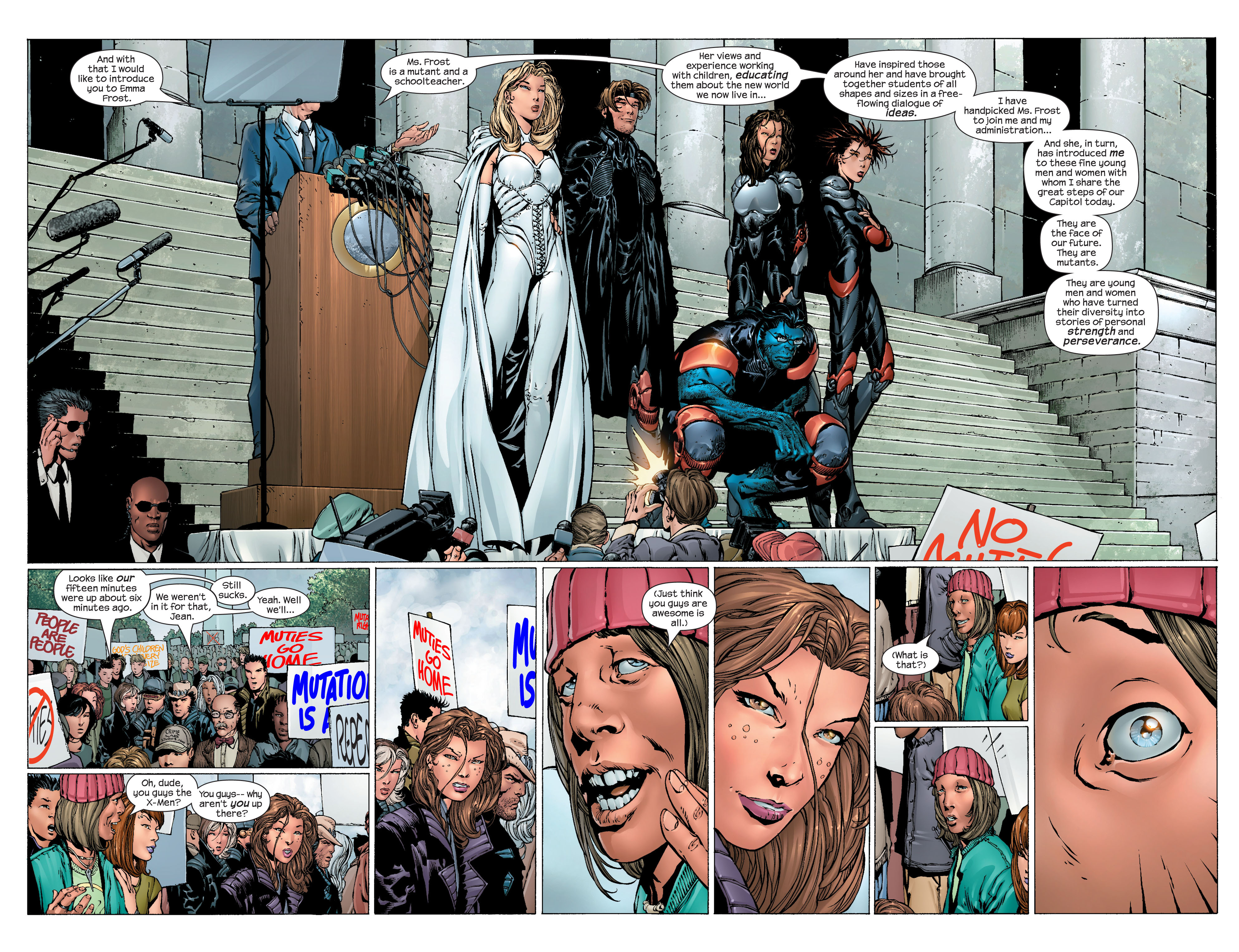 Read online Ultimate X-Men comic -  Issue #44 - 12