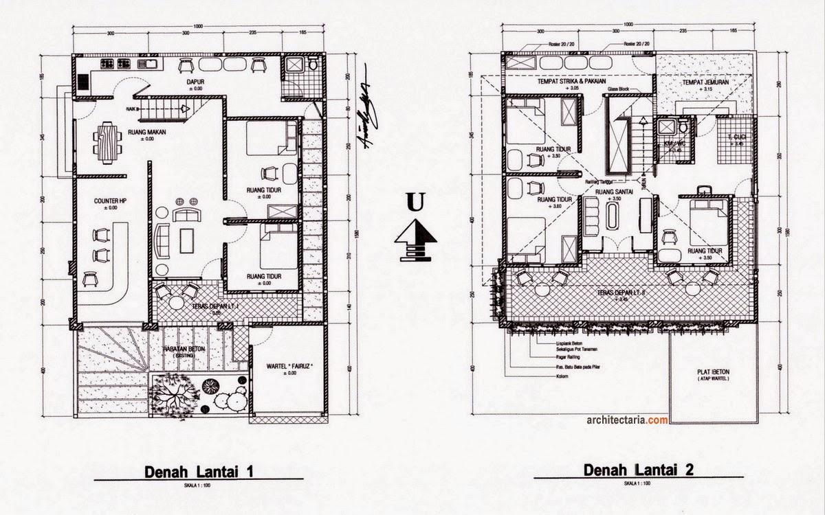 Tips Membuat Desain Arsitektur Rumah Minimalis Modern LantaiKayuku