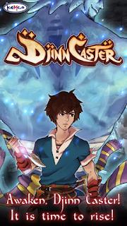 Adalah sebuah game action RPG dengan seting dongeng yang cukup gila menurut saya Unduh Game Android Gratis Djinn Caster apk