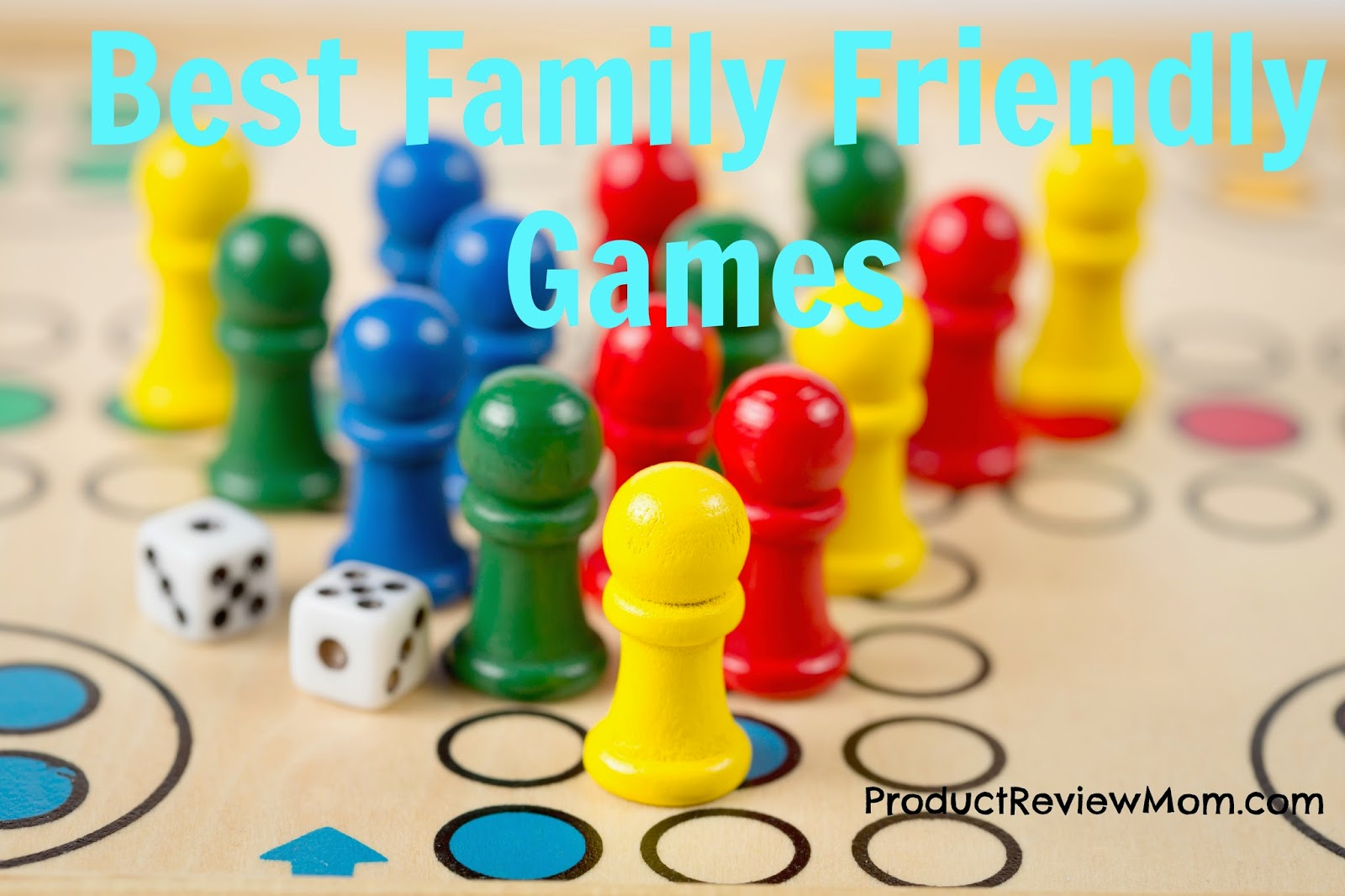 Best Family Friendly Games  via www.productreviewmom.com