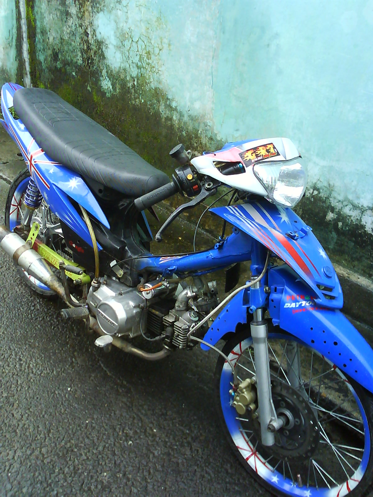 Dowload Koleksi Modifikasi Body Motor Honda Grand Terkeren Fire Modif