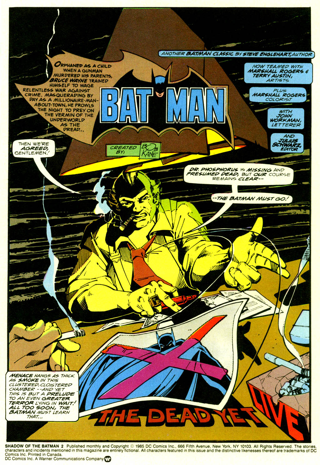 Read online Shadow of the Batman comic -  Issue #2 - 4