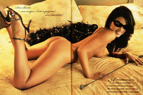 Fotos de Tiazinha, Suzana Alves, nua pelada na Playboy