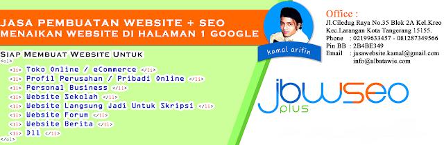 Jasa Bikin Website Bintaro, Jasa Buat Website Bintaro, Jasa Pembuatan Website di Bintaro