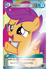 MLP Blue Pegasus Token Marks in Time CCG Card