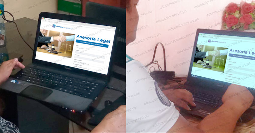 Derrama Magisterial presenta nuevo servicio de asesoría legal virtual gratuita para los docentes a nivel nacional