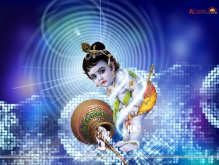 bal krishna hd photo