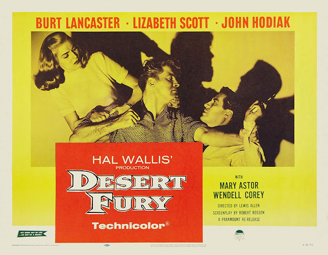 Desert Fury poster