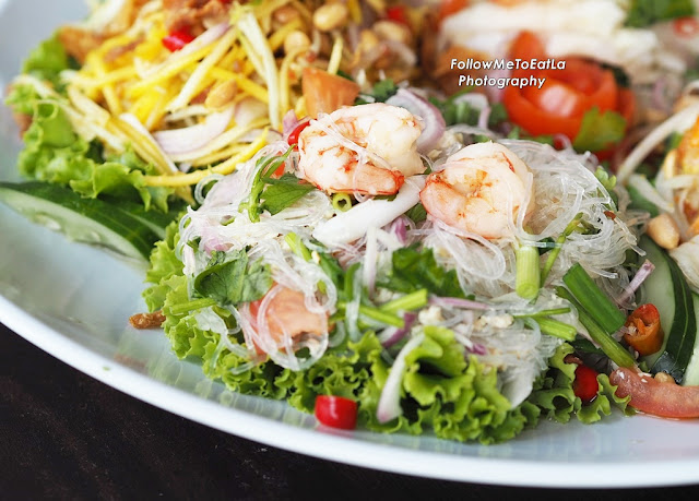Vermicelli with Prawn Salad