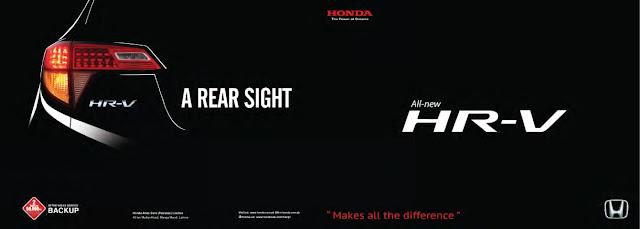 ALL NEW HR-V Honda Pakistan
