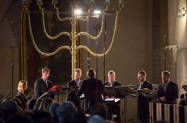Estonian Philharmonic Chamber Choir, conductor Kaspars Putniņš at Estonian Music Days (Photo Peeter Langovits)