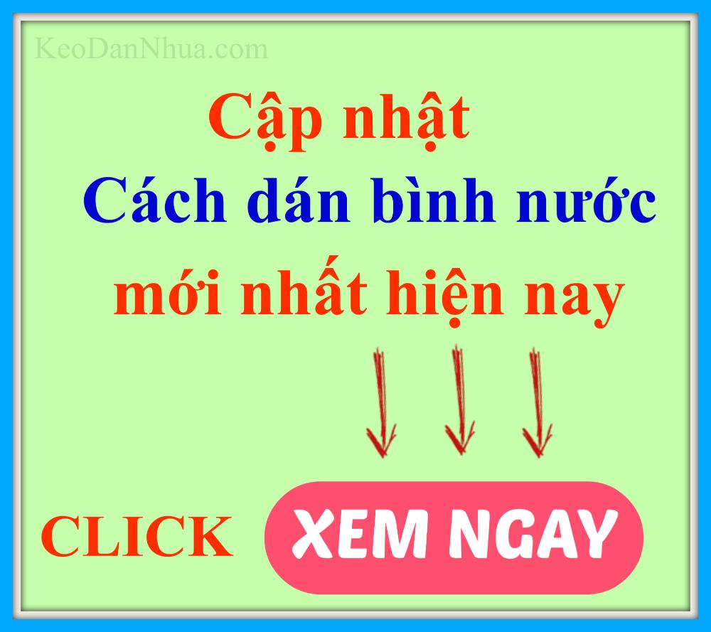 cach-dan-binh-nuoc-nhua-PET-bang-keo-dan-nhua-chuyen-dung-tot-nhat