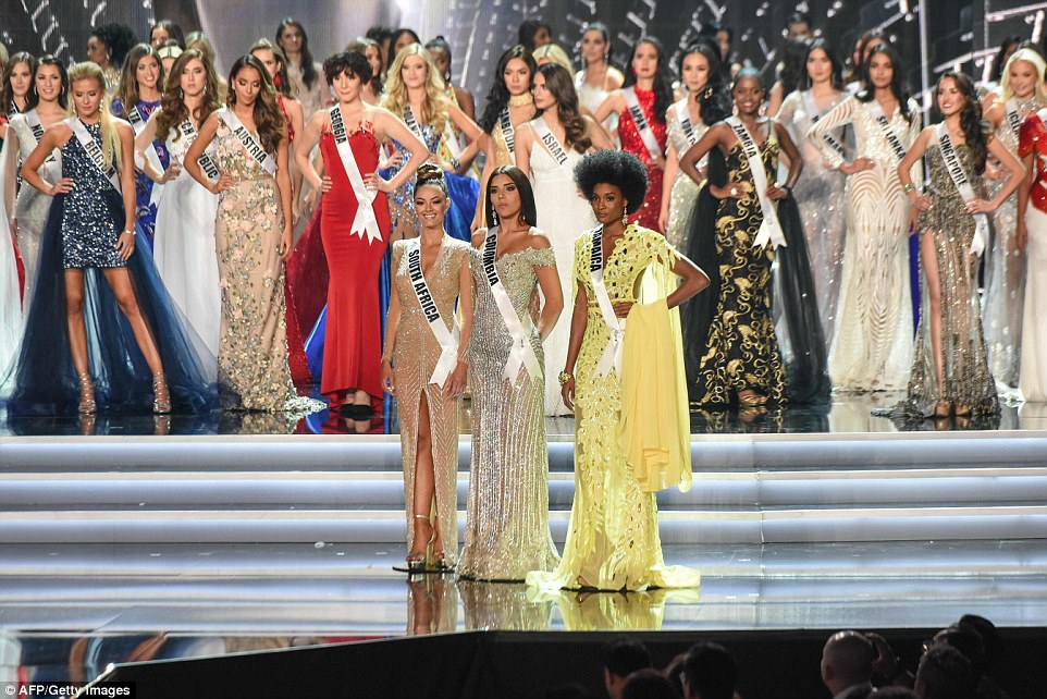 South African self defense trainer crowned Miss Universe 2017