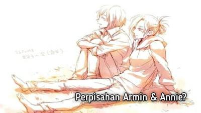 Armin Menginginkan Anak, Tapi Annie Menolaknya Karena Membenci Anak-Anak