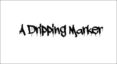 A Dripping Marker Free Font Graffiti