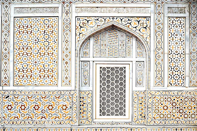 inlay work Tomb of I'timād-ud-Daulah Agra