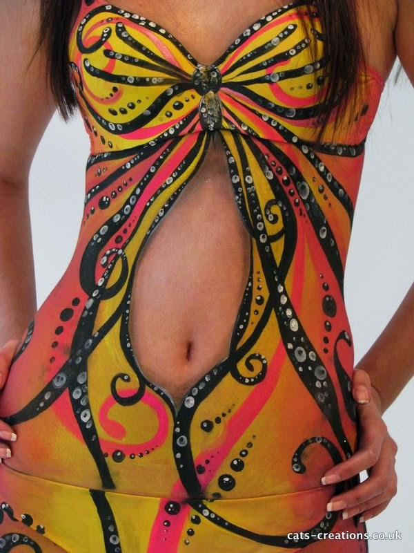 body painting art, body piercing art, body painting pictures-3