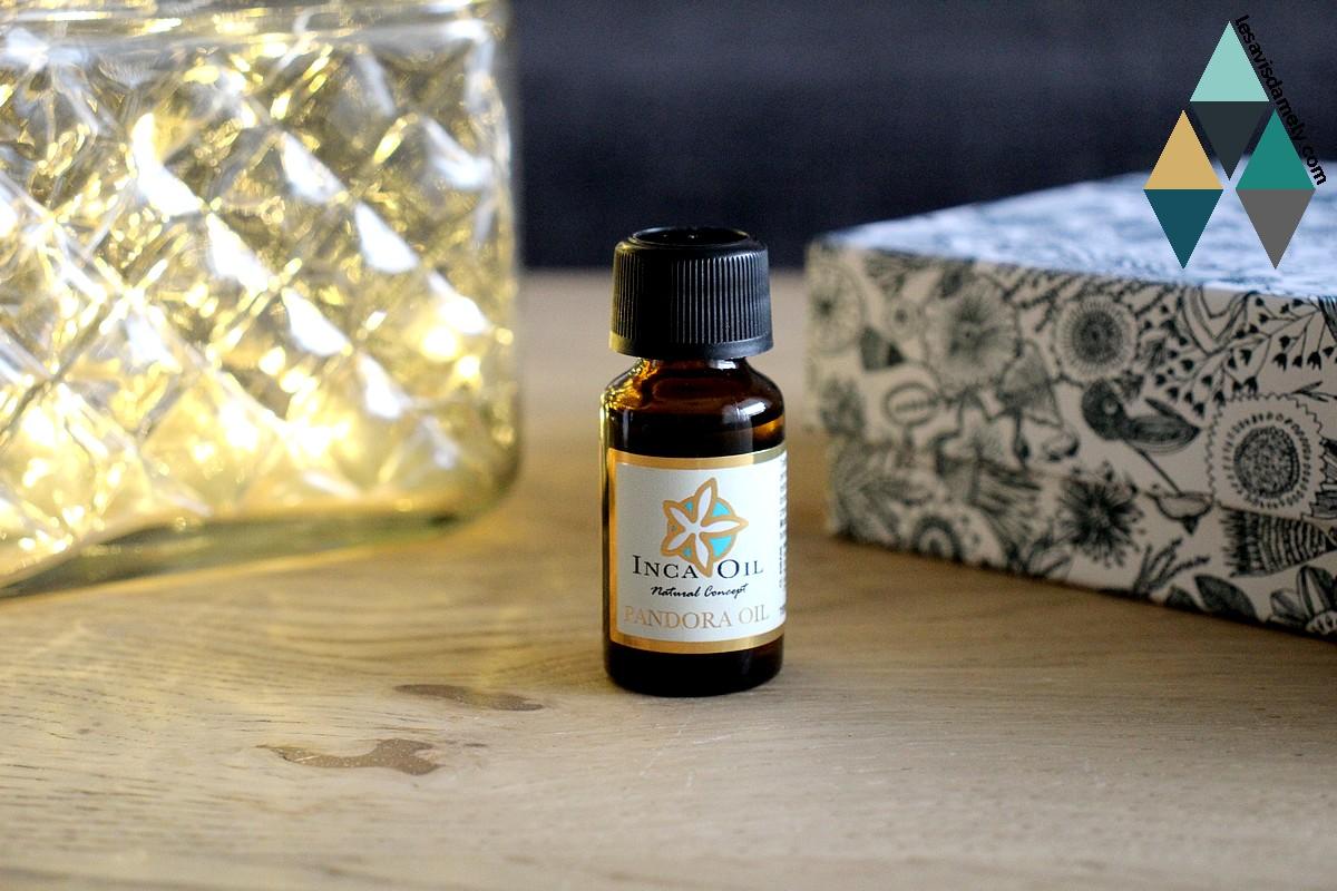 avis huile nourrissante cheveux pandora oil cheveux inca oil