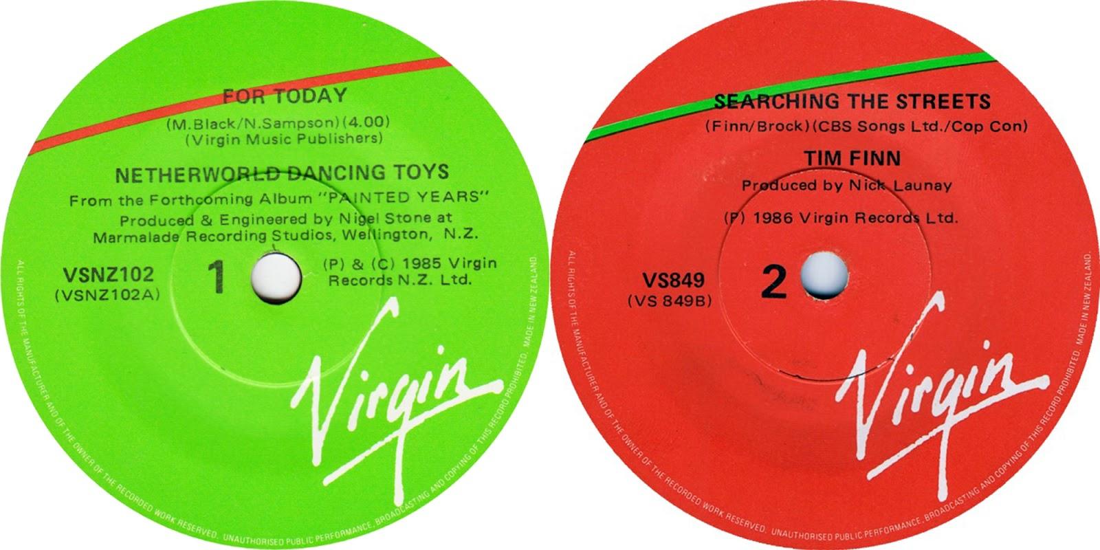 Quickly Virgin record labels good idea