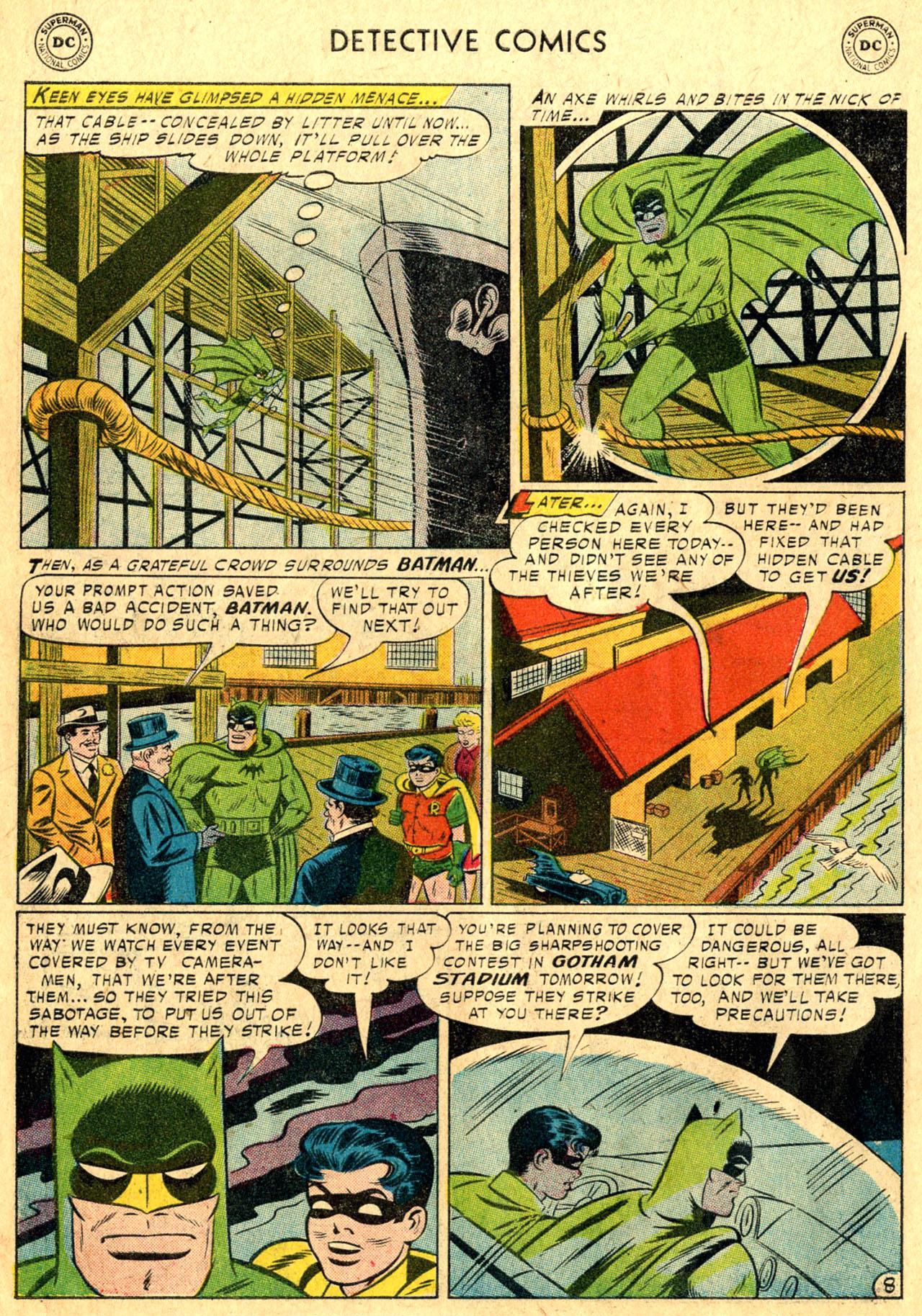 Read online Detective Comics (1937) comic -  Issue #241 - 10
