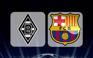 اهداف مباراة برشلونة و بوروسيا مونشنغلادباخ 28-9-2016 + سجدة توران بعد تسجيل الهدف | دورى ابطال اوروبا