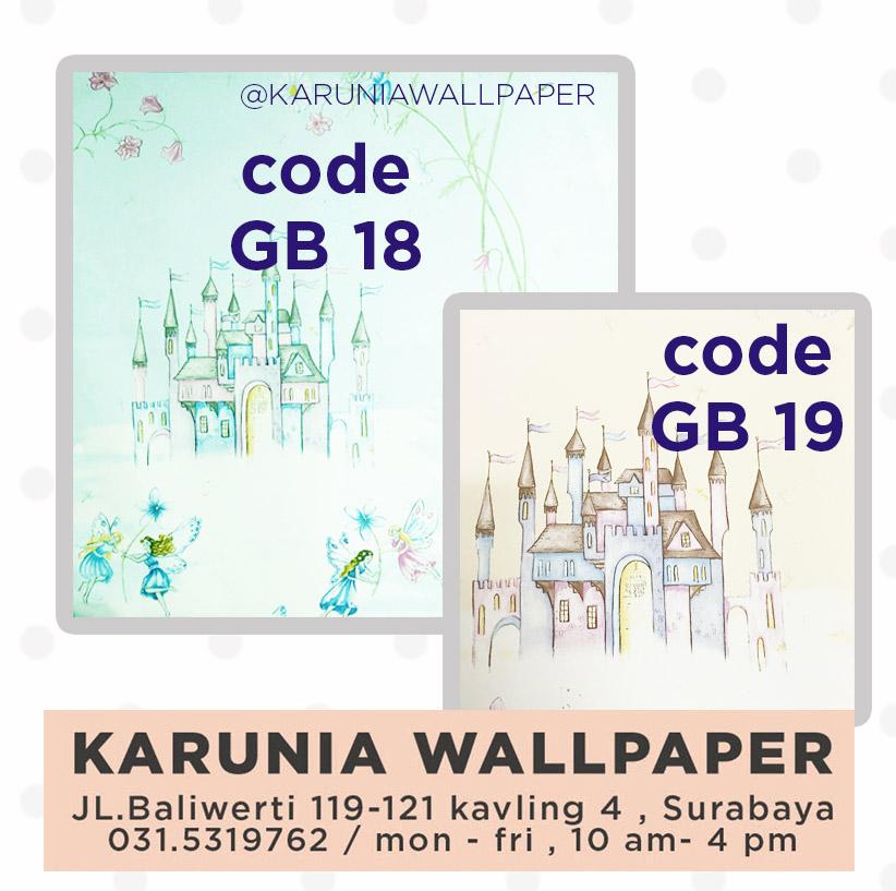 jual wallpaper anak surabaya