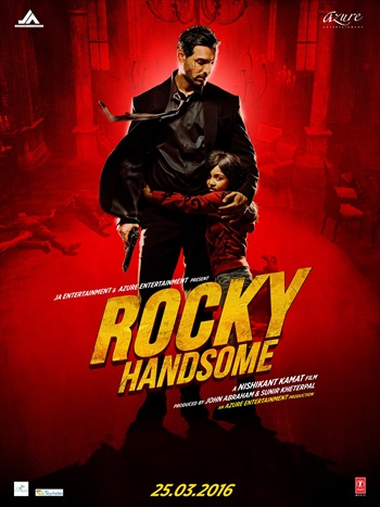 Rocky Handsome 2016 Hindi 480p HDRip 350mb