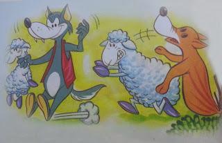 fabula el lobo y el carnero
