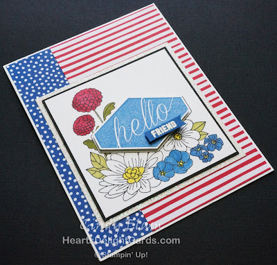 Heart's Delight Cards, Accented Blooms, MIF Fab 30, Hello Friend, Stampin' Up!