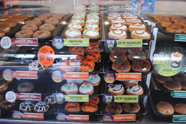 Doceria de Donuts Krispy Kreme em Miami
