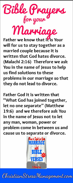 Bible prayers for your marriage