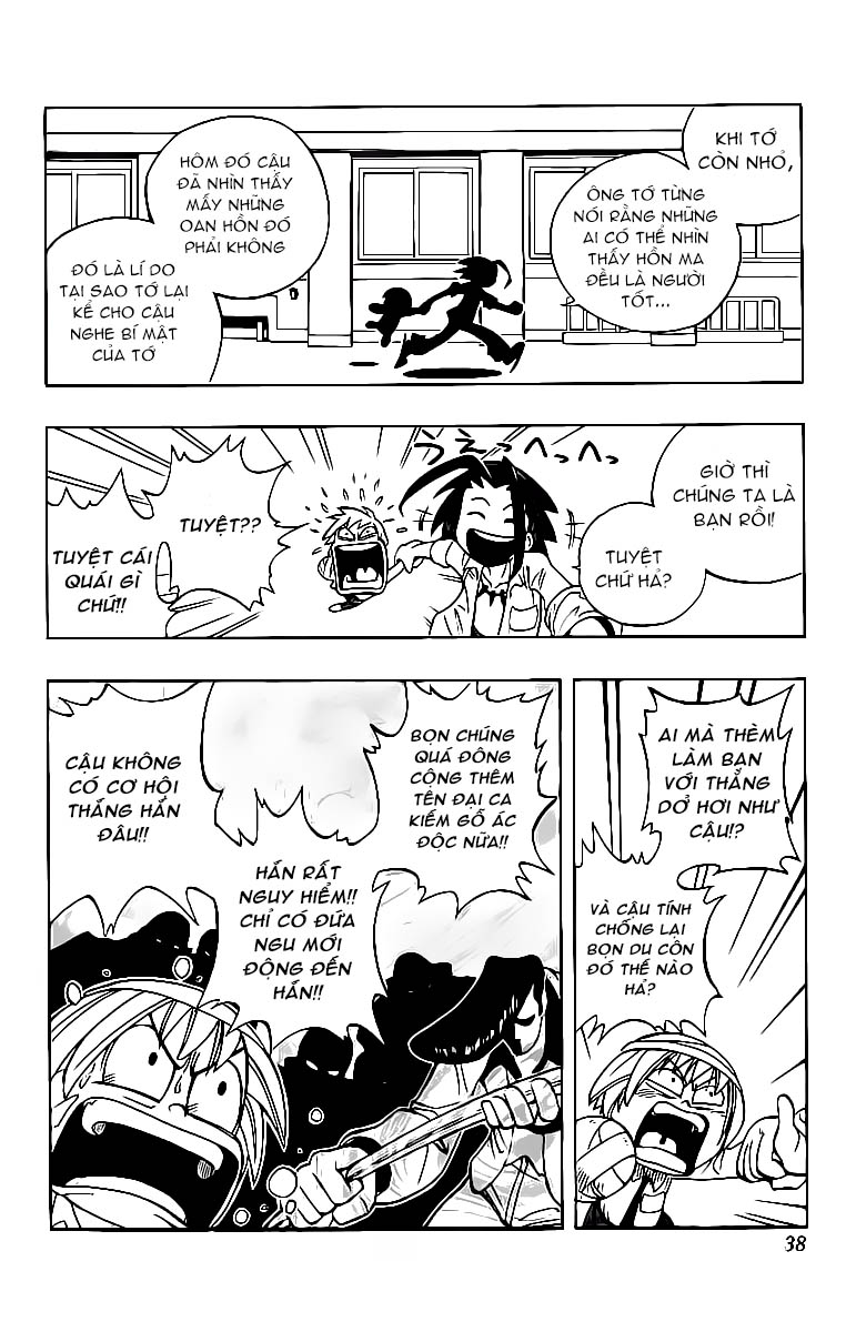 Shaman King [Vua pháp thuật] chap 1 trang 39