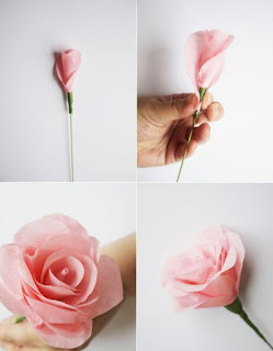 Cara Membuat Buket Bunga Sendiri Dari Kertas