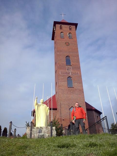 Pomniki Jana Pawła II - Mikołajki