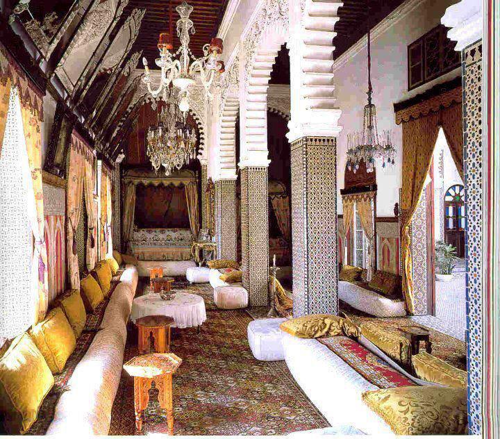 maison traditionnelle marocaine ville de t touan aboutmorocco. Black Bedroom Furniture Sets. Home Design Ideas